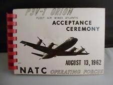 Vtg 1962 RARE P3V-1 Orion Acceptance Ceremony Photos Lockheed Airplane NATC