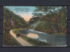 CANAL ZONE 1921, Cristobal Paguebot, Cancel to Boston, Postcard, Used