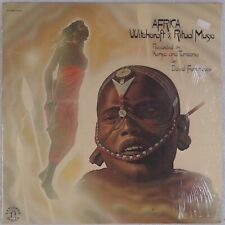 AFRICA: Witchcraft & Ritual Music NONESUCH H-72066 Field Recordings SEALED LP