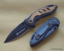 SMITH & WESSON TACTICAL FOLDING KNIFE 4 INCH CLOSED WITH POCKET CLIP