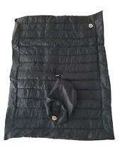 Moncler Quilted Baby Blanket, Navy With Cover
