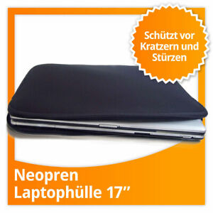 Neopren Sleeve Schutzhülle Laptoptasche 17''-Zoll Laptophülle Notebookhülle