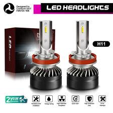 LED Headlight Kit H11 H8 H9 60W 12000LM Plug&Play Pair Bulbs 6000K White JLC
