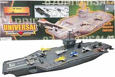 30 Inch Aircraft Carrier with Sound Effects and 12 Fighter Jets