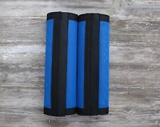 Fly Protection Leg Wraps /Leggings For Horses, Straight Fly Boots Set Of 2,Blue