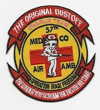 "US Army 57th Medical Det Iraq ""Dustoff"" patch"