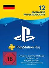 PlayStation Plus Mitgliedschaft 12 Monate 365 Tage PS4 Deutsches Code PSN [DE]