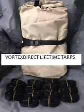 New listing New Vortex Lifetime Tarp 14 X 20 Feet, Heavy Duty Cover, Beige/Tan