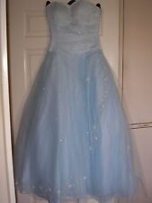 Unbranded Size Petite Sleeveless Ballgown for Women