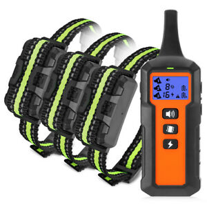 Rechargeable Dog Training Collar Remote Control for Small Medium Large Dog