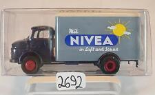 Brekina 1/87 47003 Mercedes Benz L322 LKW Koffer NIVEA OVP #2692