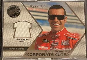 DARIO FRANCHITTI 2006 Press Pass 'Corporate Cuts' 027/165 Auto Racing