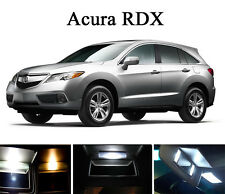 Xenon White Vanity / Sun visor  LED light Bulbs for Acura RDX (4 Pcs)
