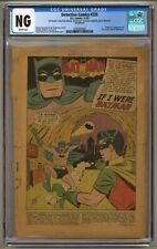 Detective Comics 225 (CGC NG) COVERLESS; INCOMPLETE; 1st J'onn J'onzz (j#6170)