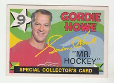 "1971-72 OPC GORDIE HOWE ""MR HOCKEY"" CARD #262 CENTERED EX/MT CONDITION"