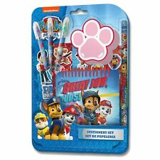 PAW PATROL 10 PCS PENCIL STATIONERY GIFT SET SCHOOL KIDS PENCIL RUBBER NOTE PAD