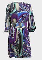 Ladies womans Plus Size Belted Dress black blue white purple 18 20 22 1x 2xl 3xl
