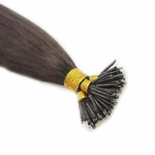 8A 1.0g/s Nano Ring beads 100% Remy Human Hair Extensions 16-22Inch blonde