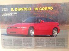 Articolo Alfa Romeo ES 30 coupe'  ZAGATO -- 1989