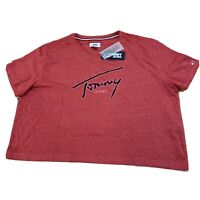 Tommy Jeans Hilfiger Womens Crop Top T Shirt Size Large New NWT E107