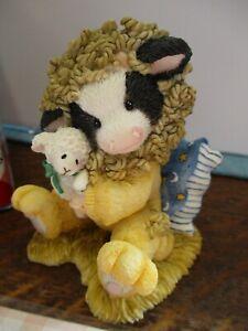 Mary's Moo Moos Enesco Peace-A-Bull Kingdom Lion Lamb Cow Figurine 372803