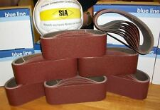 10 x SANDER/SANDING BELTS 100 X 560 GRIT SIA PRO QUALITY 60 Grit box 10