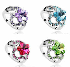 Unbranded Alloy Flowers & Plants Fashion Rings
