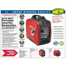 RP2000 Watt Generator Inverter Super Quiet Small Light Weight Efficient Predator