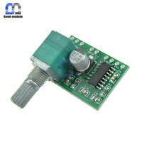 5PCS PAM8403 5V 2 Channel USB Power Audio Amplifier Board 3Wx2W Volume Control