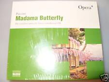 PUCCINI MADAMA BUTTERFLY-COMPLETE OPERA CD Boxset New & Sealed