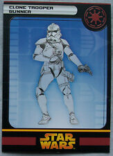 Star Wars Minatures Clone Trooper Gunner    A1661