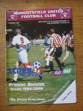 28/08/1999 Mangotsfield United v Bishop Sutton  (Team Changes)