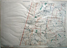 "1891 BERKSHIRES Mass, LENOX STOCKBRIDGE * 19½ x28""orig"