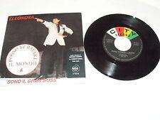 """ELEONORA """"POSSO FERMARE IL MONDO"""" disco 45 giri CITY 1986 ITALO DISCO"""