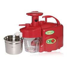 NEW GREEN POWER KEMPO KP-E1304 Premium Grade-Type Twin Gear Juicer-RED