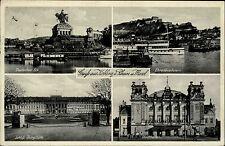 1940 Stempel Koblenz auf Feldpostkarte Merhbildkarte 2. WK Feldpost gelaufen