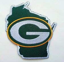 """Green Bay Packers Embroidered 3 3/8"""" Iron On Patch"""