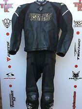 ARLEN Ness MAG due pezzi RACE Leathers CON GOBBA UK 44 Jacket 32 Gamba Jeans
