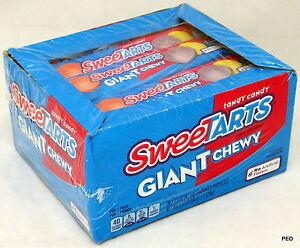 Giant Chewy Sweetarts 36 Packs Candy Bulk Candies Sweet Tart Sweetart Sweettart