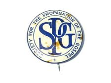 More details for c1900 spg society for the propagation of the gospel celluloid badge #wl12