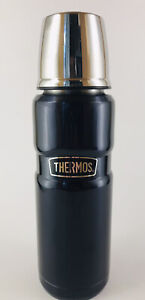 Thermos - Dark Blue SSteel Coffee Drink Container - 16 Oz - #SK2000MB4