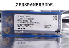 10 Wendeplatten W29 34010.048425 WOEX 06T304-01 BK8425  von KOMET zum Bohren