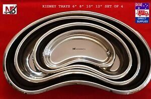 Dental Surgical Kidney Dish, Autoclave-able, Bowl, Tray, Stainless Steel,Premium