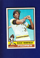 Dave Winfield HOF 1976 TOPPS Baseball #160 (EX) San Diego Padres