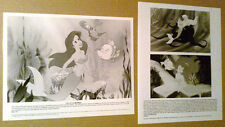 8x10 Photo~Lot~Disney THE LITTLE MERMAID 1990s ~Arial ~Flounder ~Ursula ~Cartoon