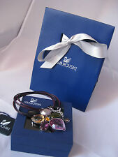 Genuine Swarovski Heritage Flower Necklace £119 birthday wedding gift prom856502