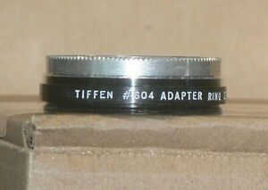 Tiffen Series 6 #604 Screw-On Lens Adapter with Retaining Ring