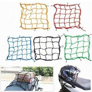 Motorrad Gepäcknetz Transportnetz Netz für Fahrrad 40cm x 40cm 4 Farben