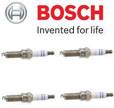For Mercedes W204 C250 Coupe R172 SLK250 Set Of 4 Spark Plugs Bosch 0242140512