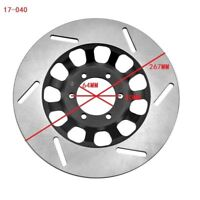 For Yamaha RD250 LC 1980-1986 RD 350 LC 1980-1982 Front Right Brake Disc Rotor